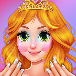 Loira Princesa Jelly Nails Spa